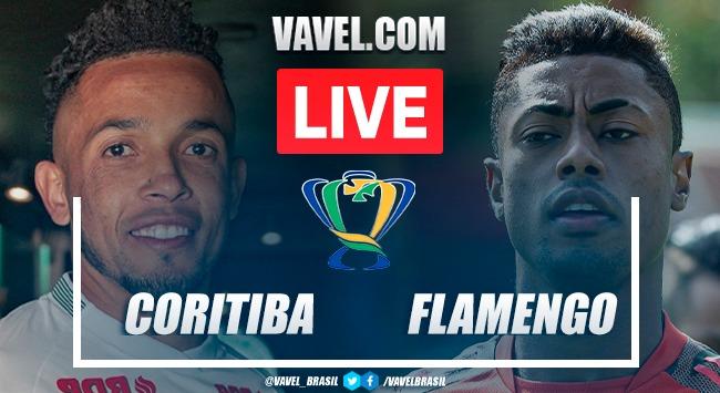 Gols e melhores momentos de Coritiba 0 x 1 Flamengo pela Copa do Brasil