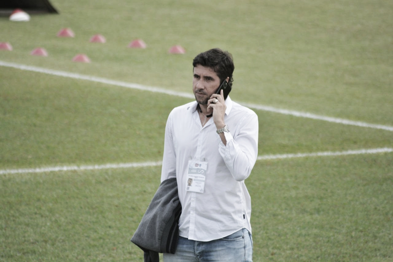 Glauber Berti, agora do outro lado da mesa, fala sobre negociações dos jogadores do Nacional-SP