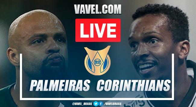 Gols e melhores momentos para Palmeiras x Corinthians pelo Campeonato Brasileiro (1-1)