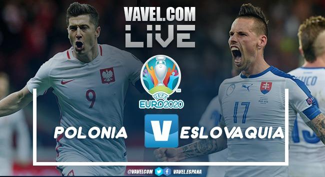 Resumen Polonia vs Eslovaquia en la Eurocopa 2020 (1-2)