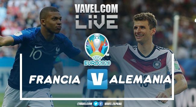 Resumen Francia vs Alemania en la Eurocopa 2020 (1-0)