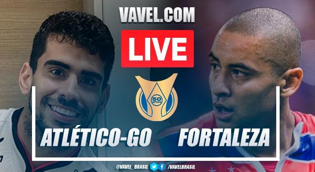 Gols e melhores momentos Atlético-GO x Fortaleza pelo Campeonato Brasileiro (0-0)