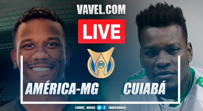 Gols e melhores momentos de América-MG x Cuiabá pelo Campeonato Brasileiro 2021 (0-0)