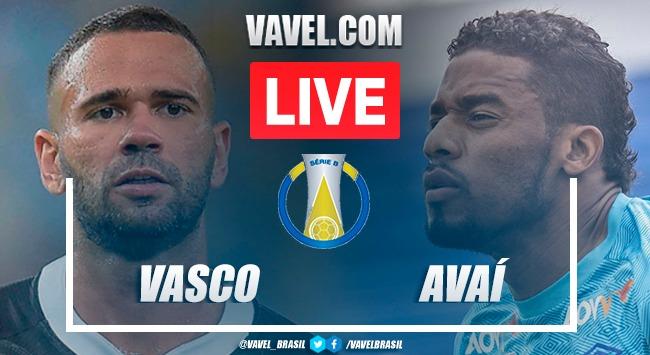 Gols e melhores momentos Vasco x Avaí pela Série B 2021 (0-2)
