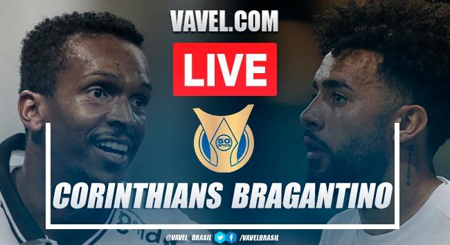 Gols e melhores momentos Corinthians x Bragantino pelo Campeonato Brasileiro 2021 (1-2)