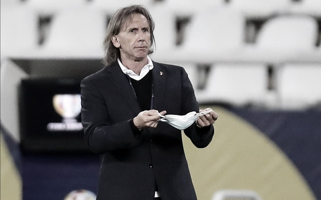 "Ricardo Gareca: ""Tenemos que dejar este partido atrás"""