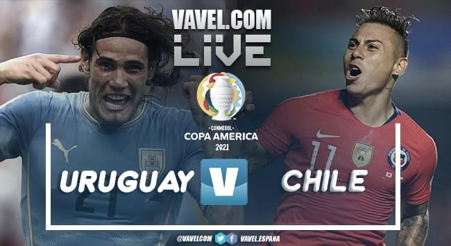 Resumen Uruguay vs Chile en la Copa América 2021(1-1)