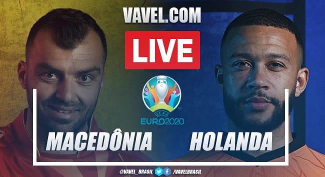 Gols e melhores momentos para Macedônia do Norte X Holanda pela Eurocopa (0-3)