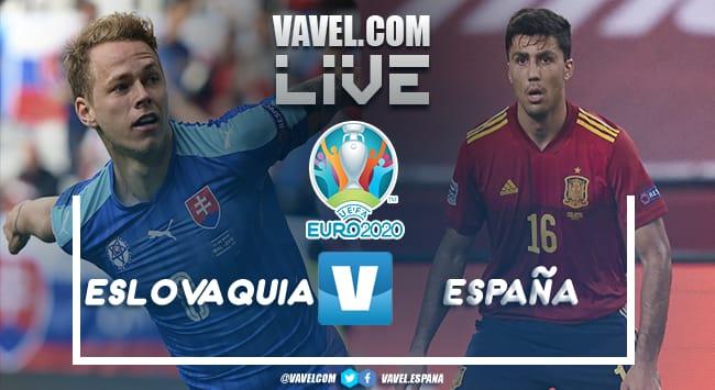 Resumen Eslovaquia vs España por la Eurocopa 2020 (0-5)