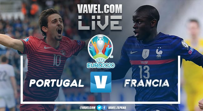 Resumen Portugal vs Francia por la Eurocopa 2020 (2-2)