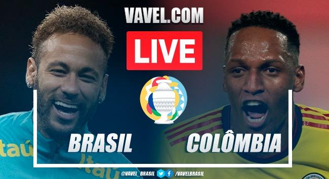 Gols e melhores momentos para Brasil x Colômbia pela Copa América (2-1)