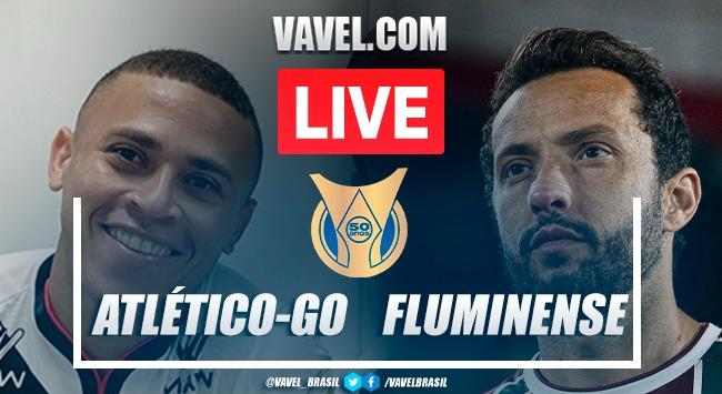 Gol e melhores momentos de Atlético-GO 1 x 0 Fluminense pelo Campeonato Brasileiro