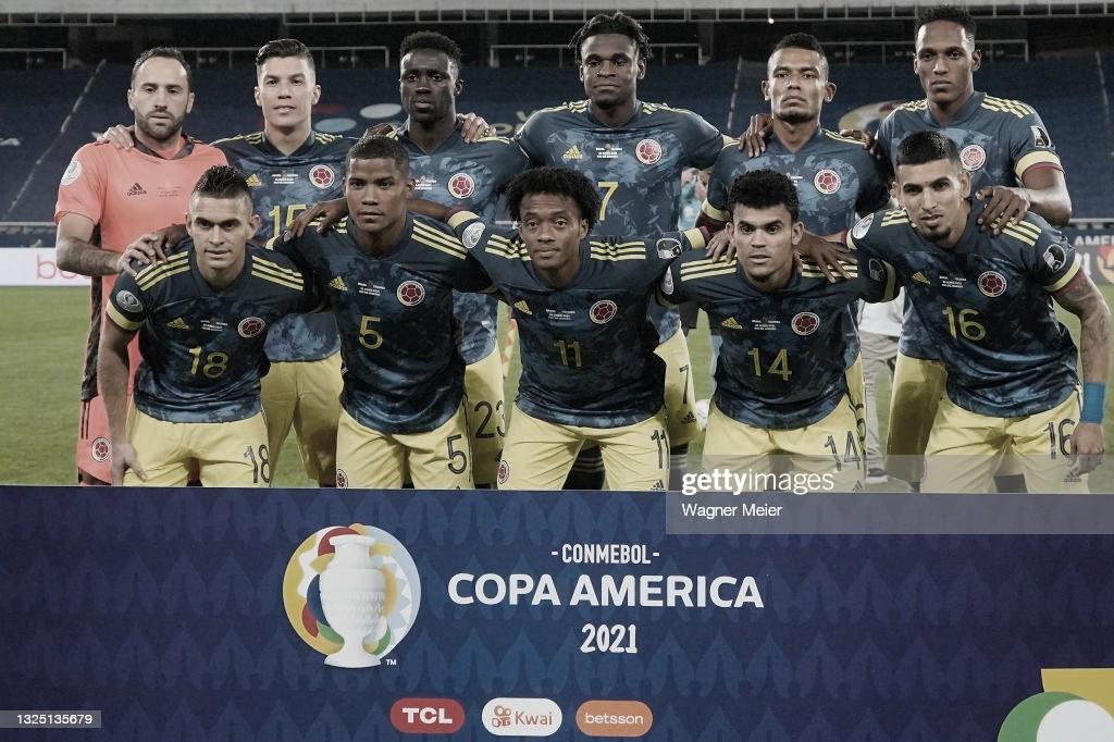 Puntuaciones en Colombia tras su derrota ante Brasil