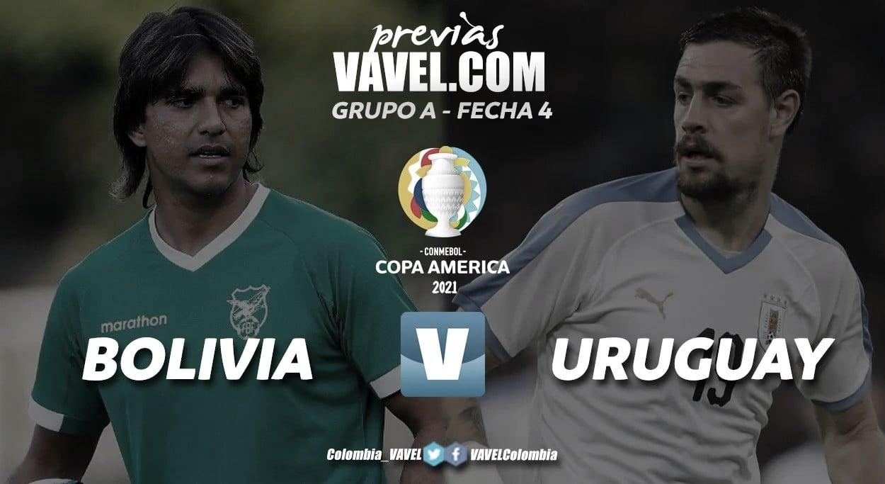 Previa de Bolivia - Uruguay: tres puntos de oro