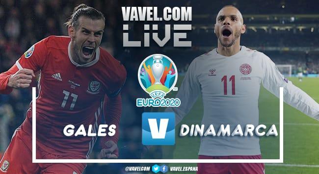 Resumen Gales vs Dinamarca por la Eurocopa 2020 (0-4)