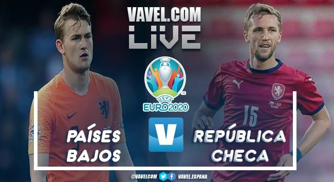 Resumen Países Bajos vs República Checa en la Eurocopa 2021 (0-2)