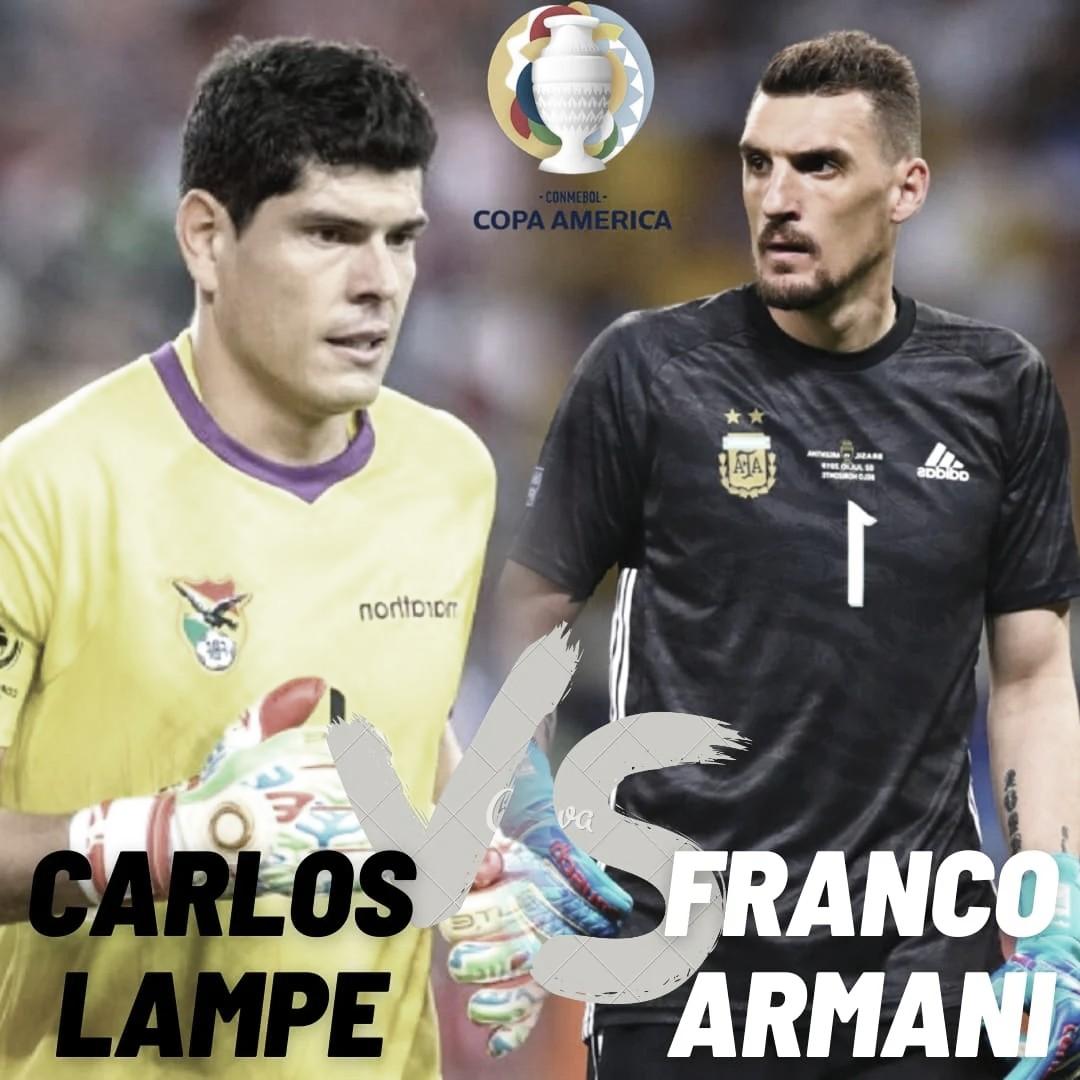 Carlos Lampe vs Franco Armani: Duelo de murallas.