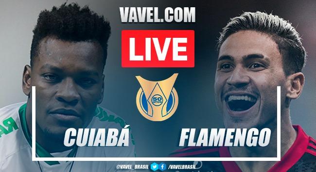 Gols e melhores momentos de Cuiabá x Flamengo (0-2)