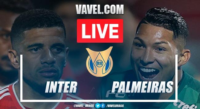 Gols e melhores momentos para Inter 1x2 Palmeiras pelo Campeonato Brasileiro