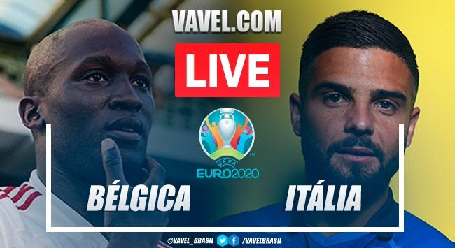 Gols e melhores momentos Bélgica x Itália na Eurocopa (1-2)