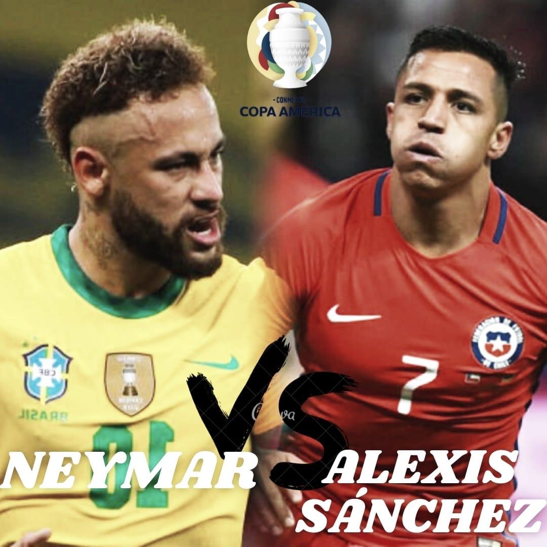 Neymar vs Alexis Sánchez: En busca de la clasificación.