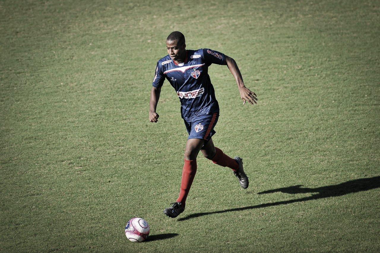 Thyganá, do Bahia de Feira, fala sobre momento do time no Baiano Sub-20