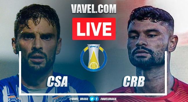 Gol e melhores momentos de CSA x CRB (0-1)