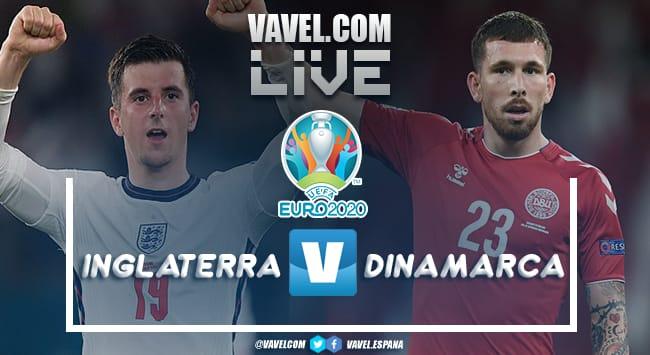 Resumen Inglaterra vs Dinamarca por la Eurocopa 2020 (2-1)
