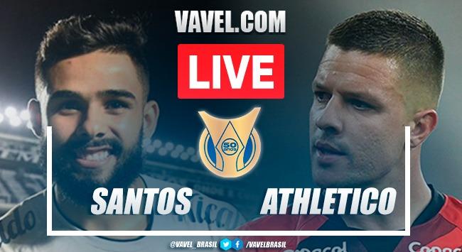 Gols e melhores momentos Santos x Athletico-PR pelo Campeonato Brasileiro (2-1)