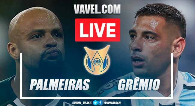 Gols e melhores momentos para Palmeiras 2 x 0 Grêmio pelo Campeonato Brasileiro