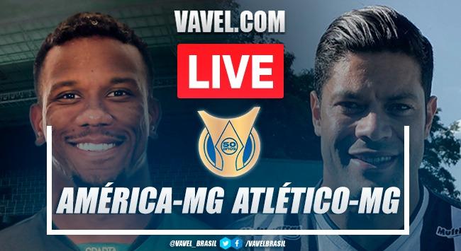 Gols e melhores momentos América-MG x Atlético-MG pelo Campeonato Brasileiro (0-1)