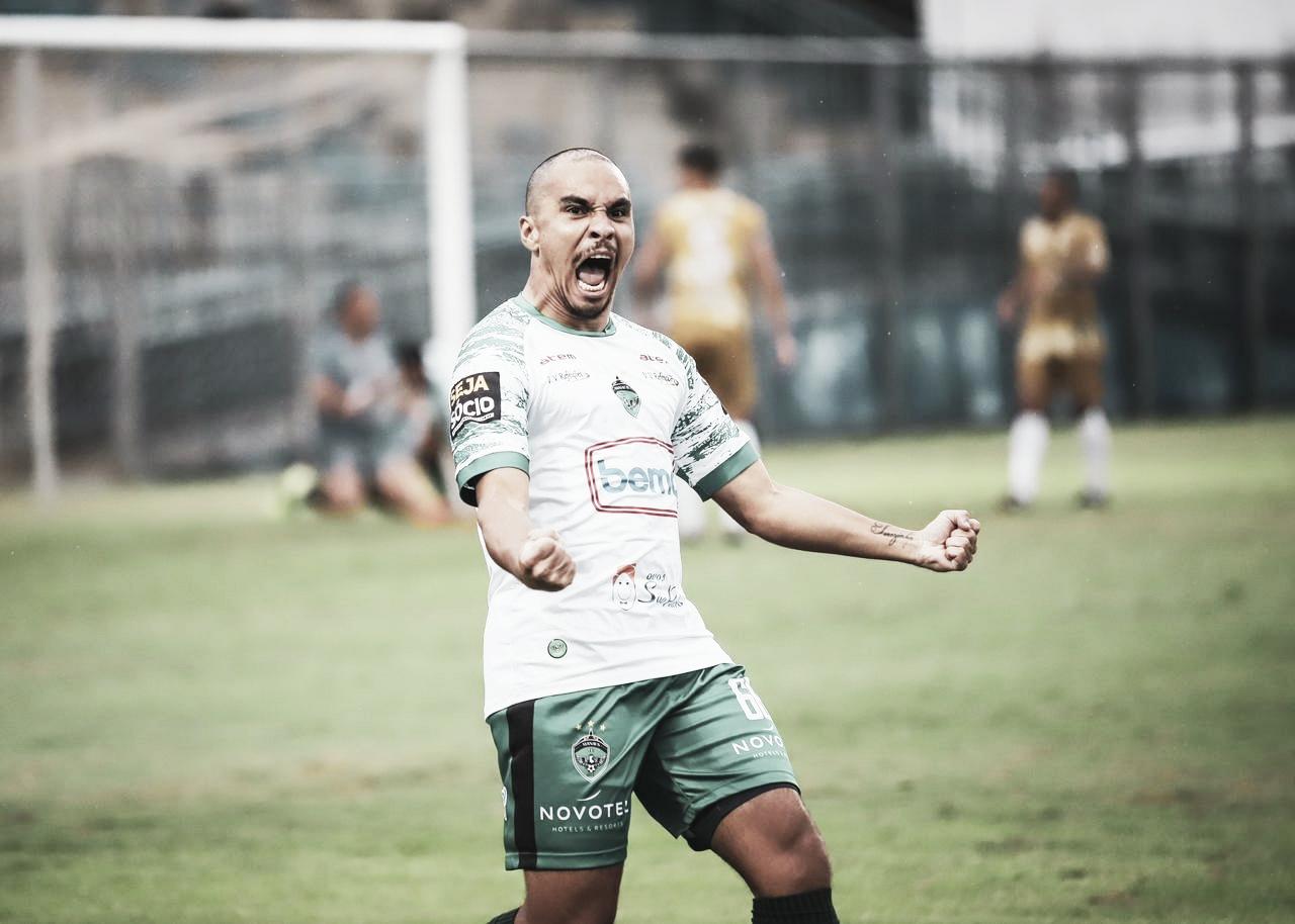 Destaque nas últimas partidas do Manaus, lateral fala sobre a campanha do time