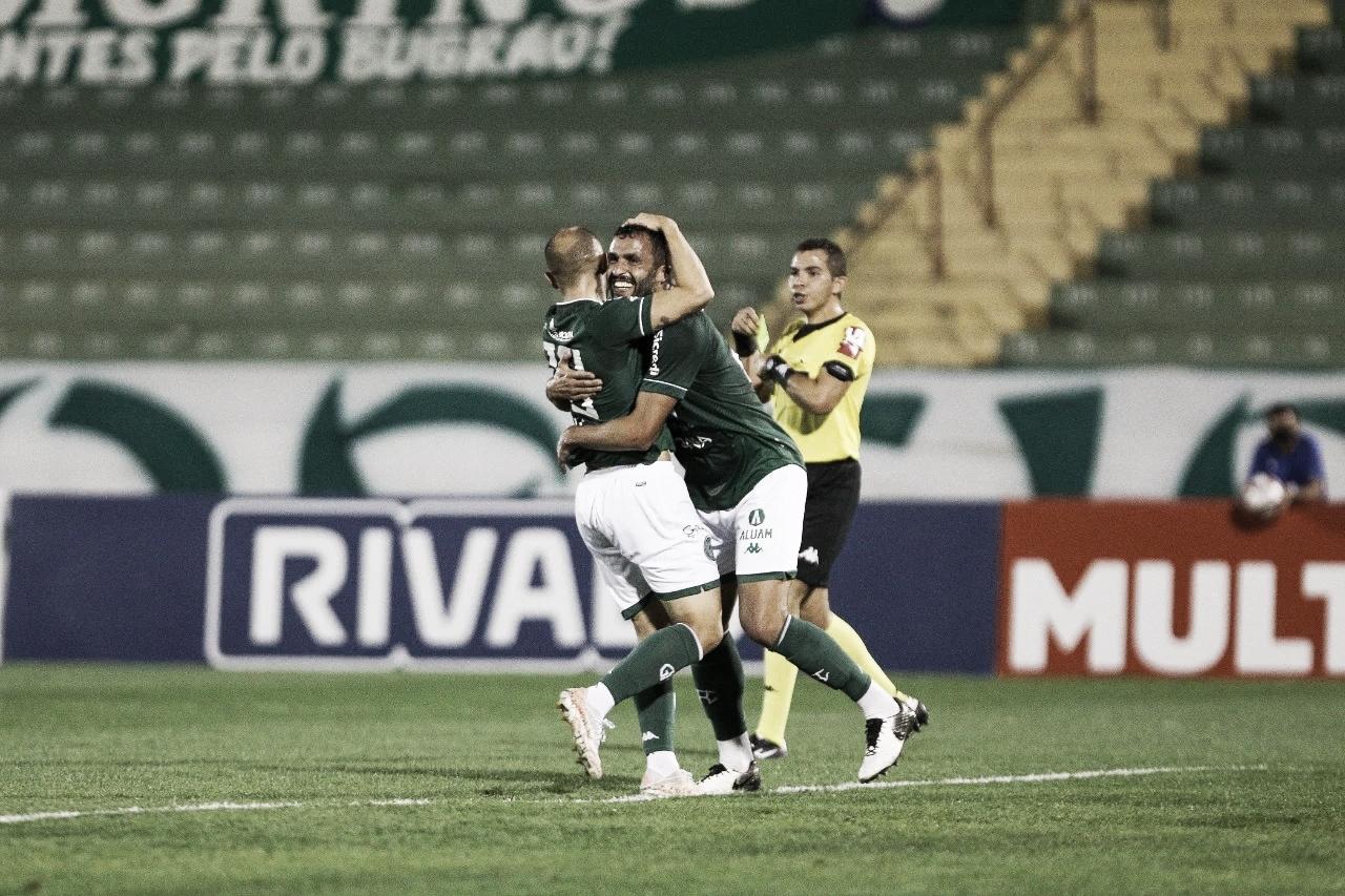Guarani derrota CRB e entra no G-4 da Série B