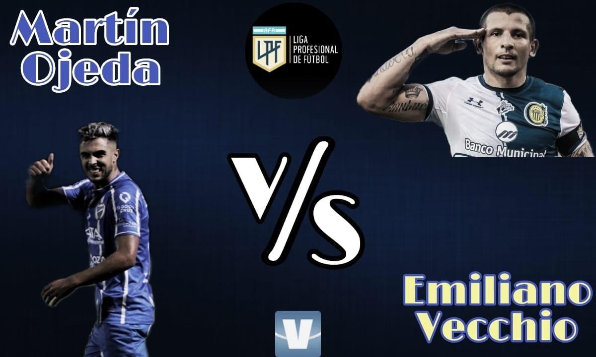 Martín Ojeda vs Emiliano Vecchio: Arrancar con el pie derecho.