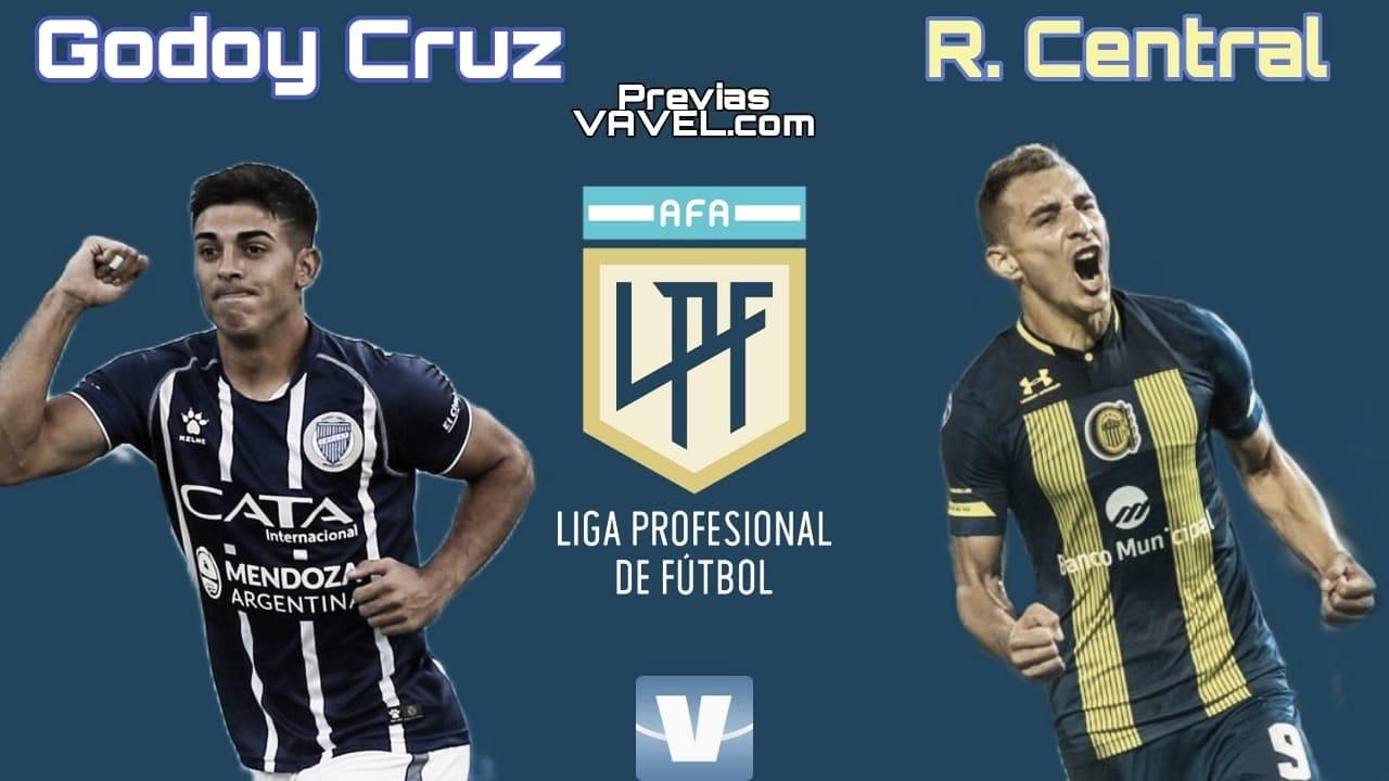 Godoy Cruz - Rosario Central: con ilusión renovada arrancan un nuevo torneo