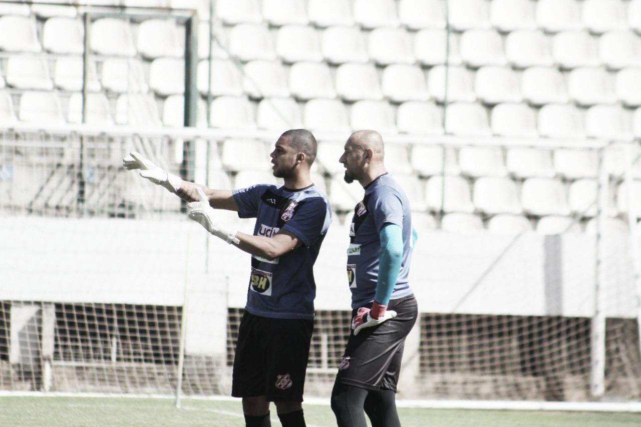 """Goleiro Zé Carlos cita vivência com Gomes no Democrata, de Sete Lagoas: """"experiência única"""""""