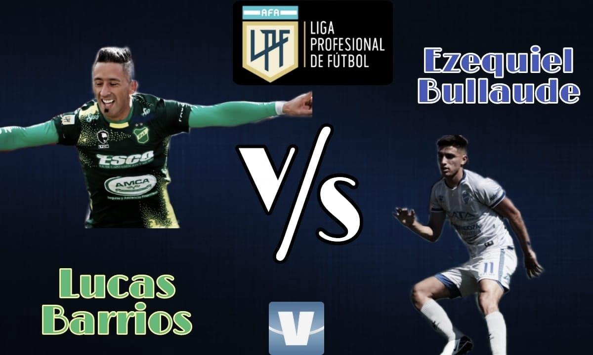 Lucas Barrios vs Ezequiel Bullaude: Arietes de peligro