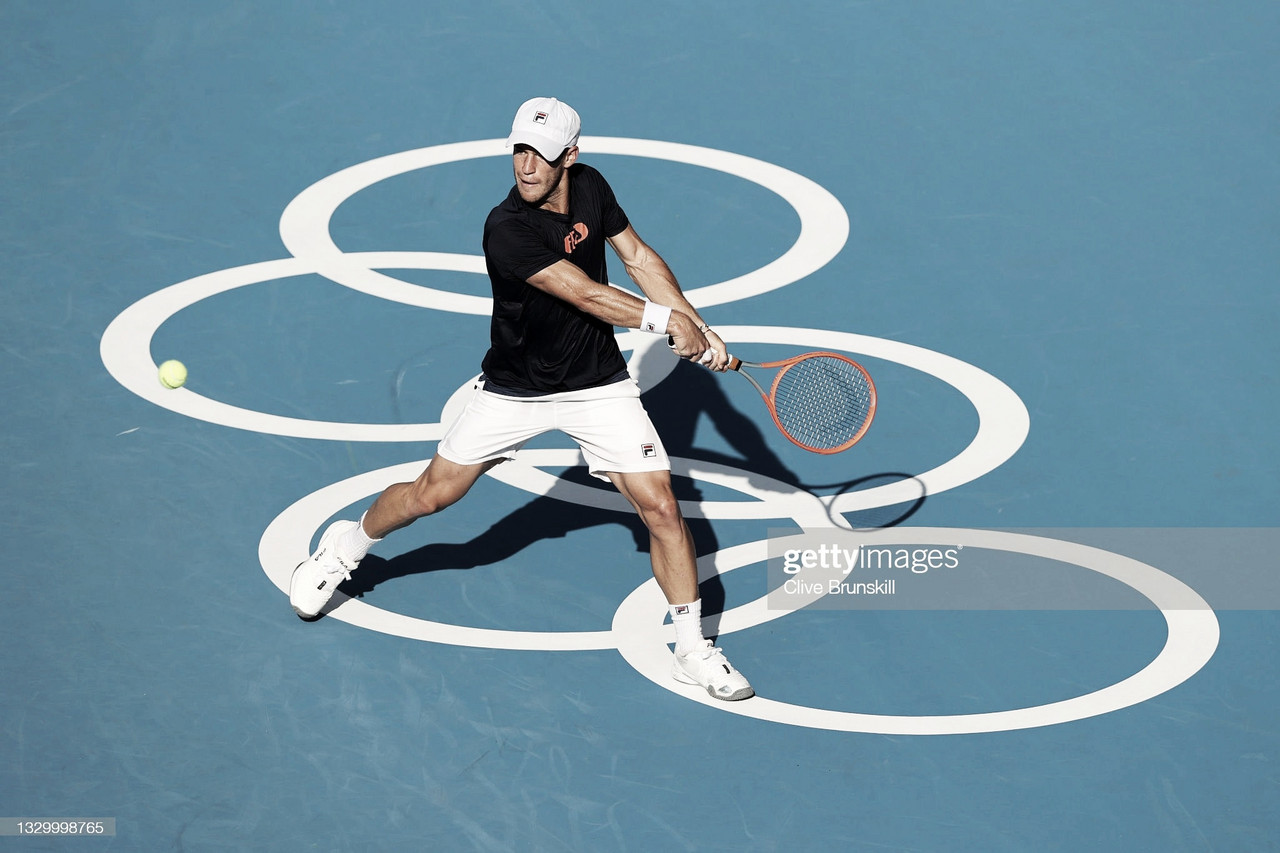 Debut del tenis Argentino en Tokio 2020