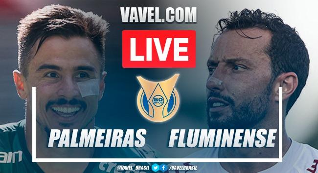 Gol e melhores momentos de Palmeiras x Fluminense pelo Campeonato Brasileiro (1-0)