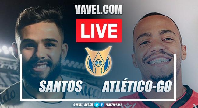 Gols e melhores momentos Santos x Atlético-GO pelo Campeonato Brasileiro(0-1)