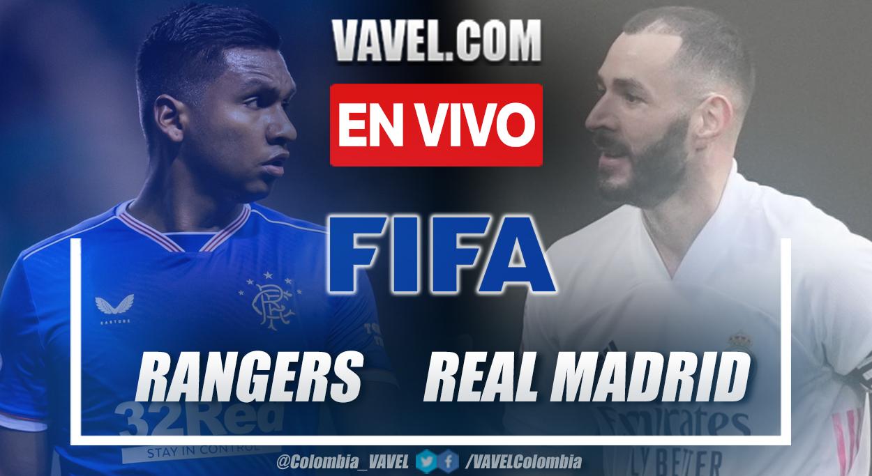 Resumen y Goles: Rangers 2-1 Real Madrid en partido amistoso