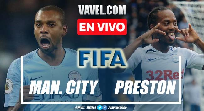Resumen Manchester City 2-0 Preston en Partido Amistoso