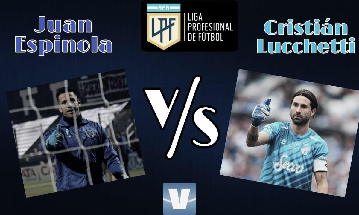 Juan Espínola vs Cristian Lucchetti: Las murallas del interior.