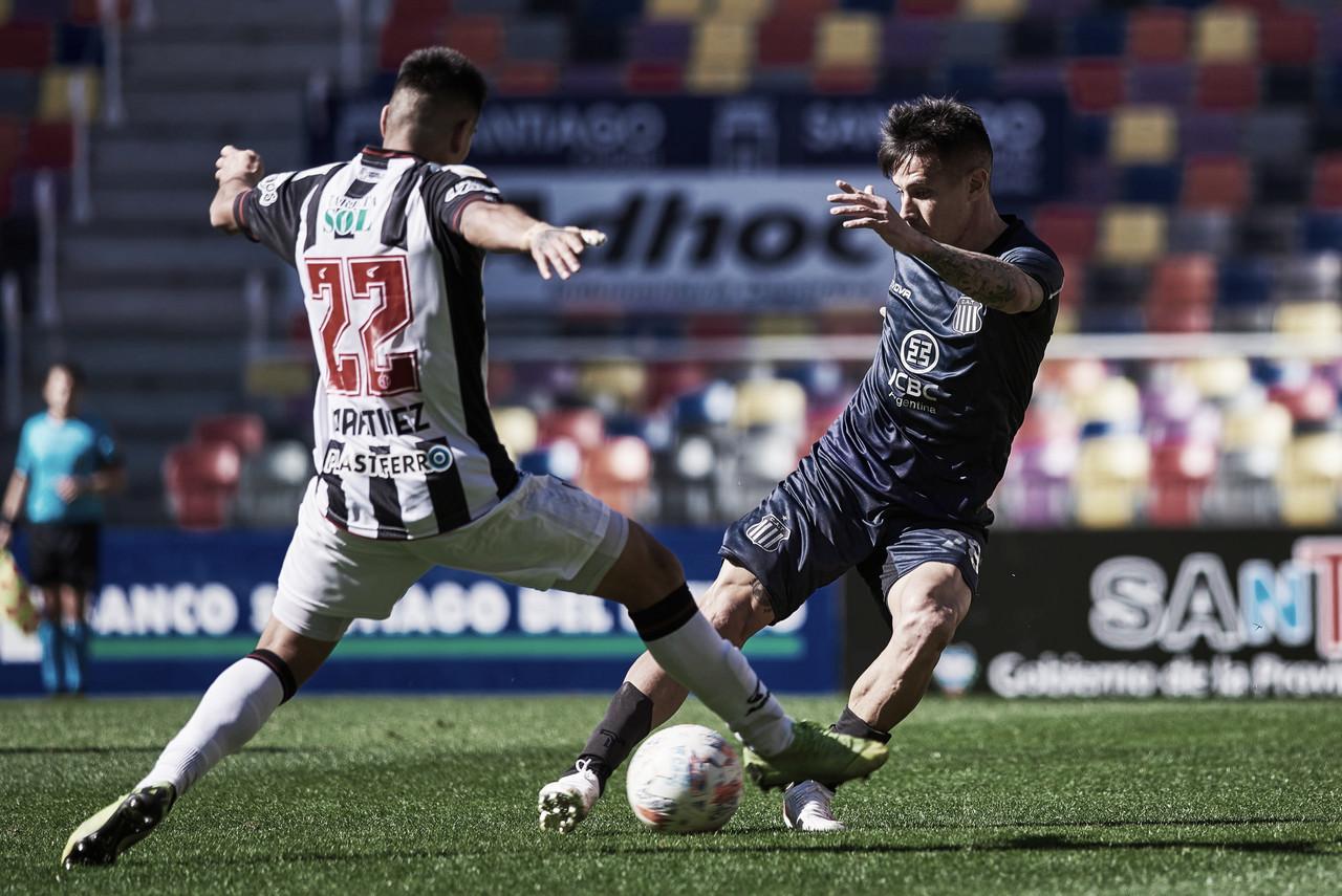 Talleres perdió en Santiago