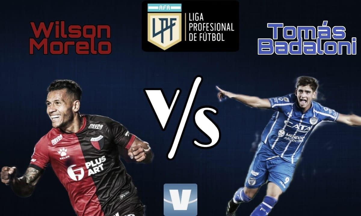 Wilson Morelo vs Tomás Badaloni: La puesta en el ataque.