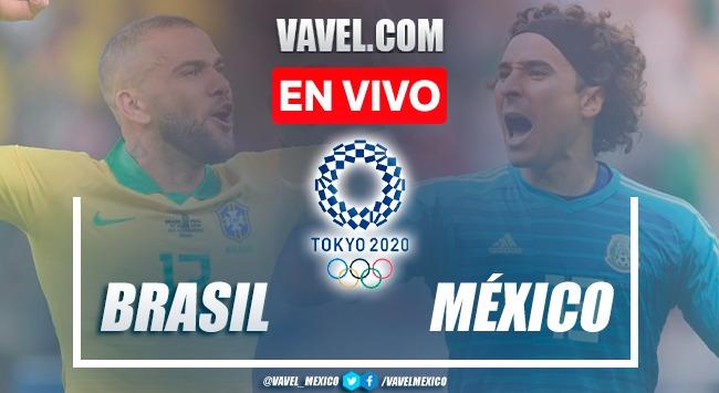 Goles y resumen: Mexico (1)0-0(4) Brasil en Juegos Olímpicos