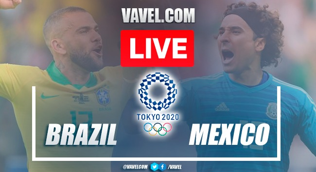 Goals and Highlights: Mexico (1)0-0(4) Brazil in 2020 Olympic Games
