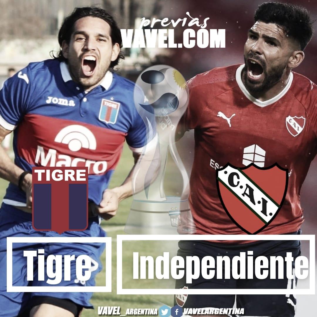 Independiente enfrentará a Tigre con dos bajas