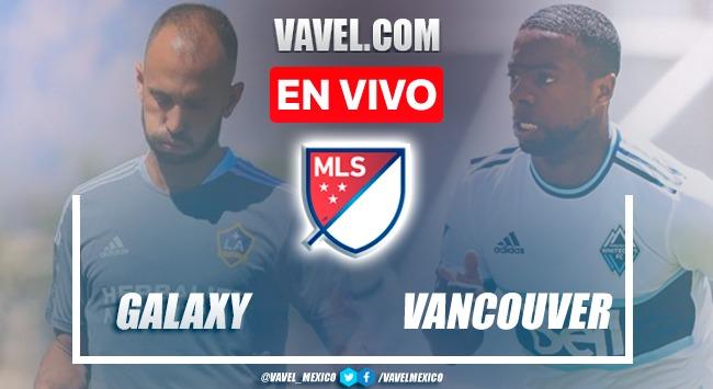 Goles y resumen del LA Galaxy 1-1 Vancouver Whitecaps en MLS