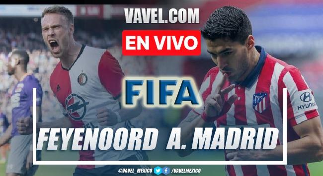 Goles y resumen del  Feyernoord 2-1 Atlético Madrid en Amistoso 2021